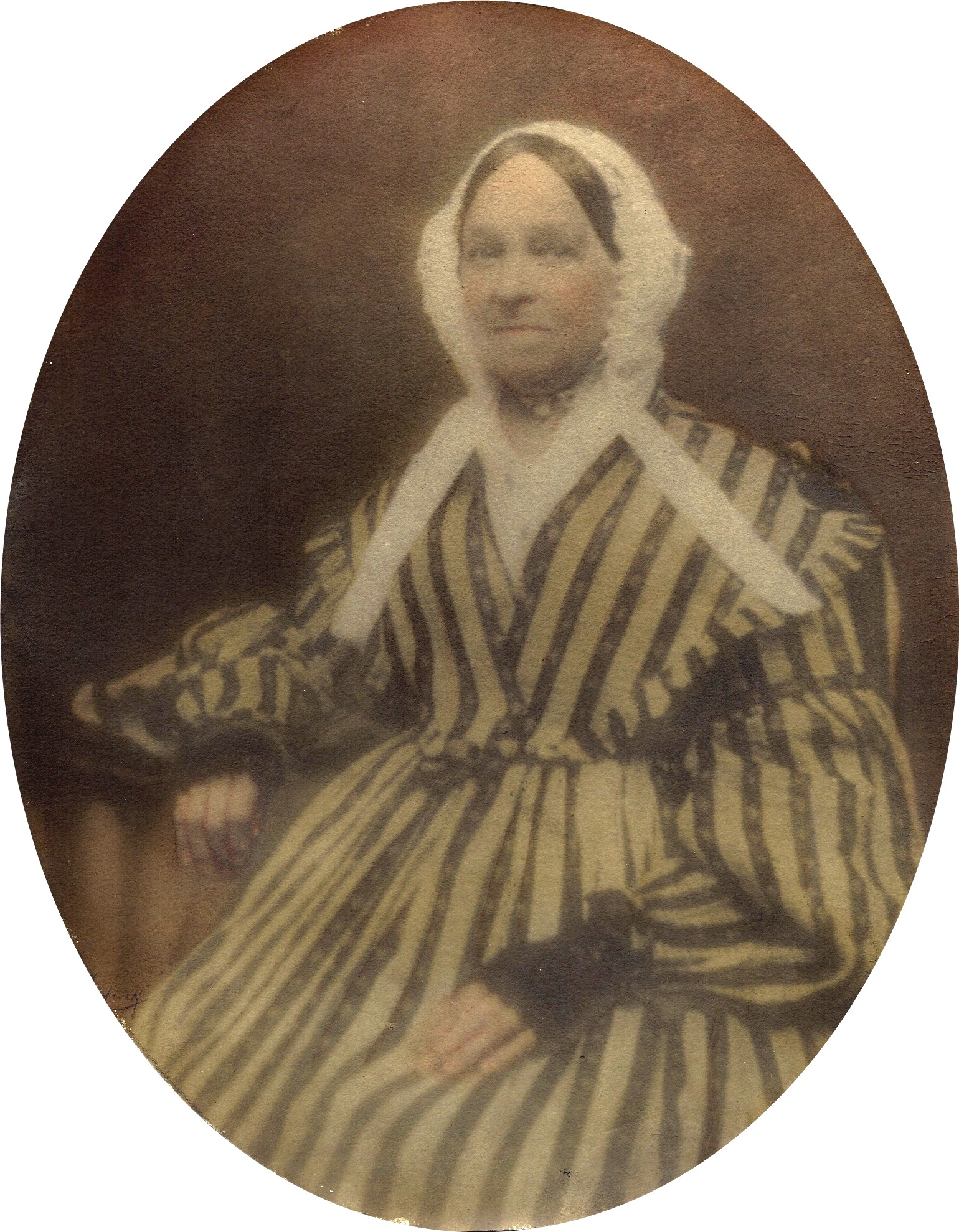 Unknown Hatch woman; probably Catherine Mitchell, wife of Junius, Sr.  Copyright 2010 Your Life and Times - All Rights Reserved